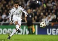 Free kick Ronaldo bermasalah
