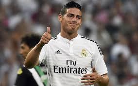 James berhasil tampil dengan sangat bagus di saat bermain melawan Granada