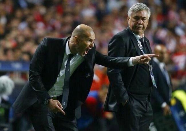 Zidane di persiapkan untuk menggantikan posisi dari Ancelotti