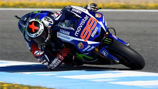 Lorenzo berhasil tampil dengan sangat dominan sepanjang balapan Jerez