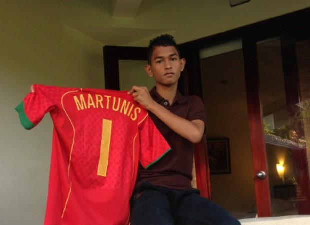 Martunis dapat kesempatan untuk bermain sepak bola di Portugal