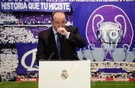 Rafa terharu dapat menjabat pelatih Real Madrid
