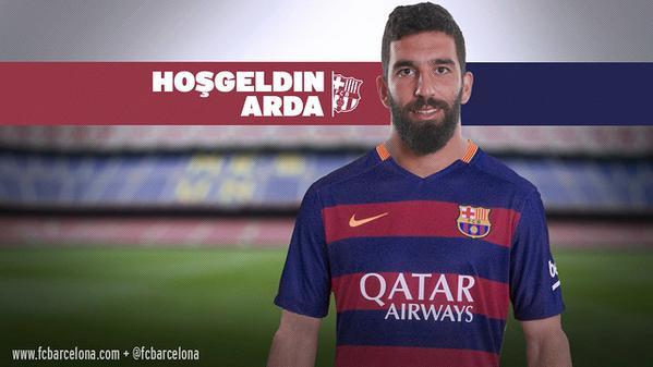 Arda resmi jadi pemain Barcelona