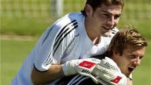 Beckham sedih Casillas pergi dari Madrid