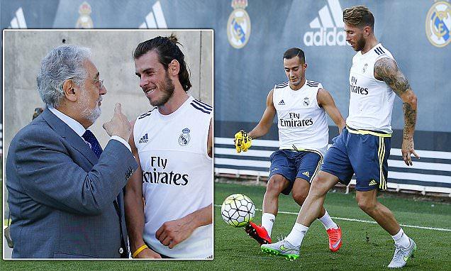 Bale dan Ramos siap di mainkan lawan Atletico de Madrid