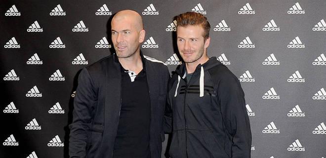 Bagi beckham Zidane seorang pesepak bola yang terbaik