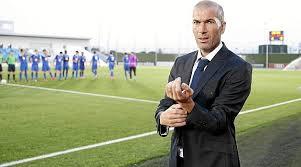 Zidane tertantang untuk dapat bisa melatih Real Madrid CF