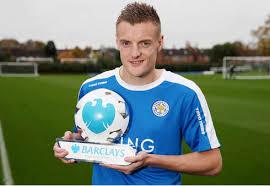 Vardy pada saat ini menjadi striker nomor satu di Inggris