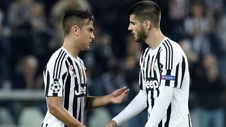 Juve tidak akan menjual Dybala dan Morata karena aset masa depan